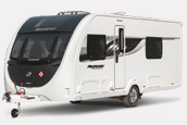 The 2019 Swift Platinum caravan